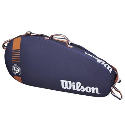 Wilson Roland Garros Team 3 Racket Bag - Side