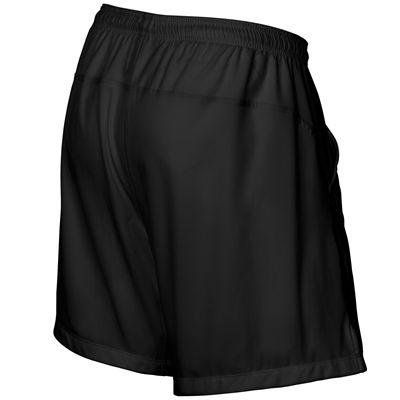 Wilson Rush 7 Tennis Woven Mens Shorts-Black-Back