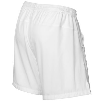 Wilson Rush 7 Tennis Woven Mens Shorts-White-Back