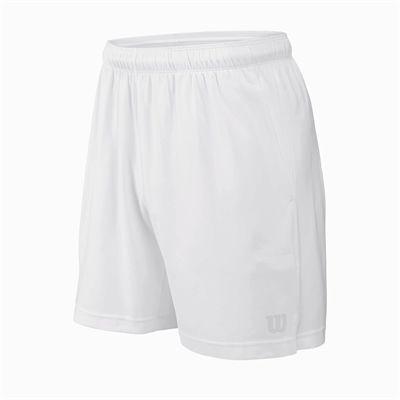 Wilson Rush 7 Woven Mens Shorts - White