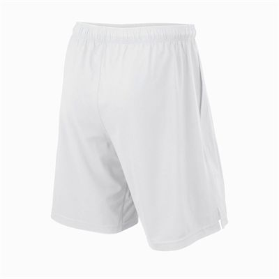 Wilson Rush 9 Woven Mens Shorts - White/Back
