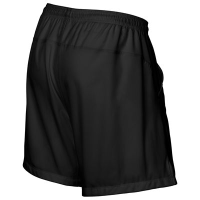 Wilson Rush 9 Woven Mens Shorts-Black-Back
