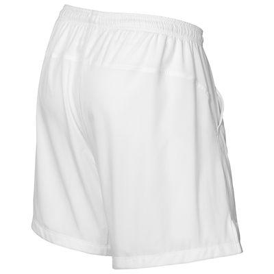 Wilson Rush 9 Woven Mens Shorts-White-Back