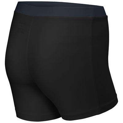 Wilson Rush Compression Ladies Shorts-Black-Back