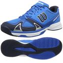 Wilson Rush EVO Mens Tennis Shoes White/Blue