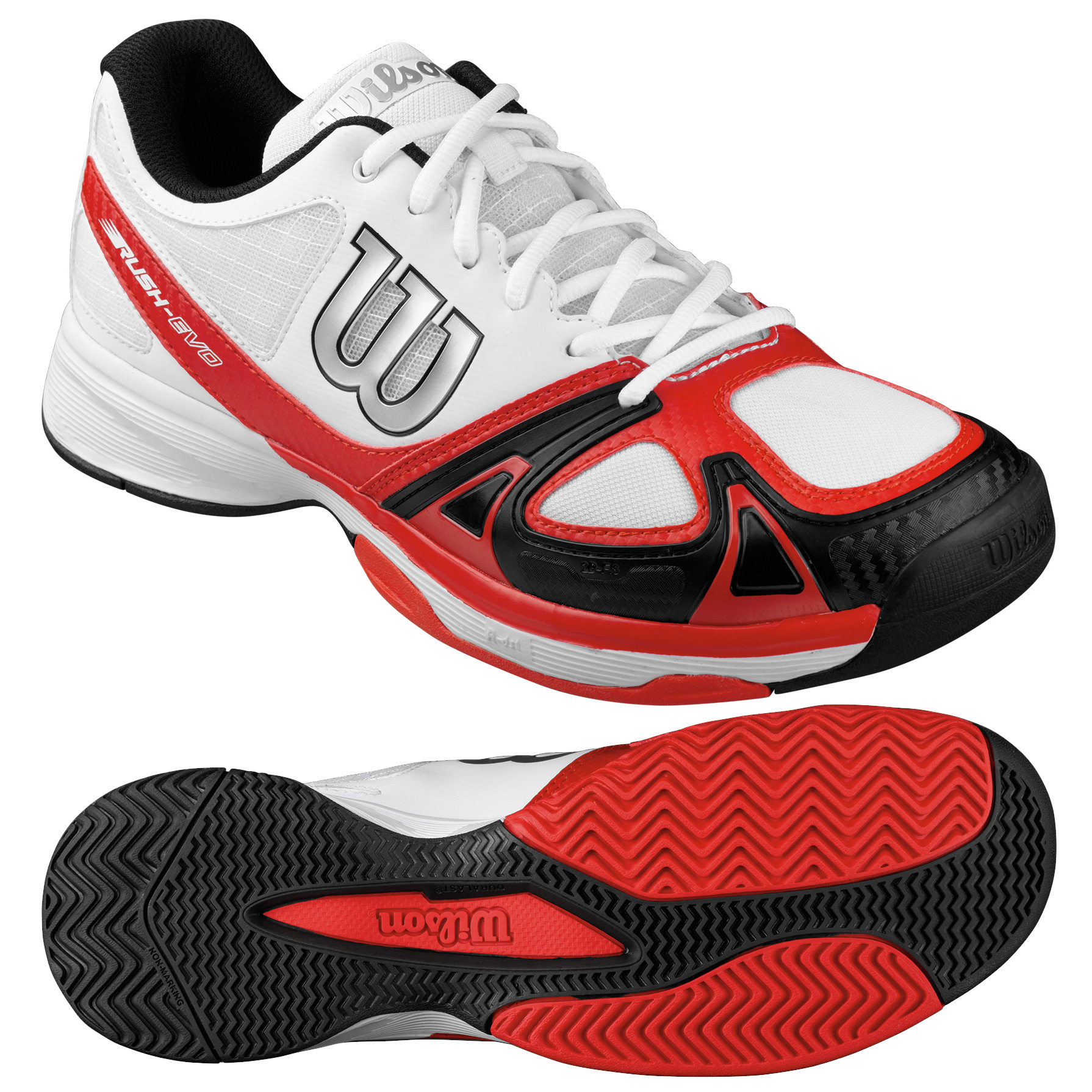 Wilson Rush EVO Mens Tennis Shoes - 10 UK