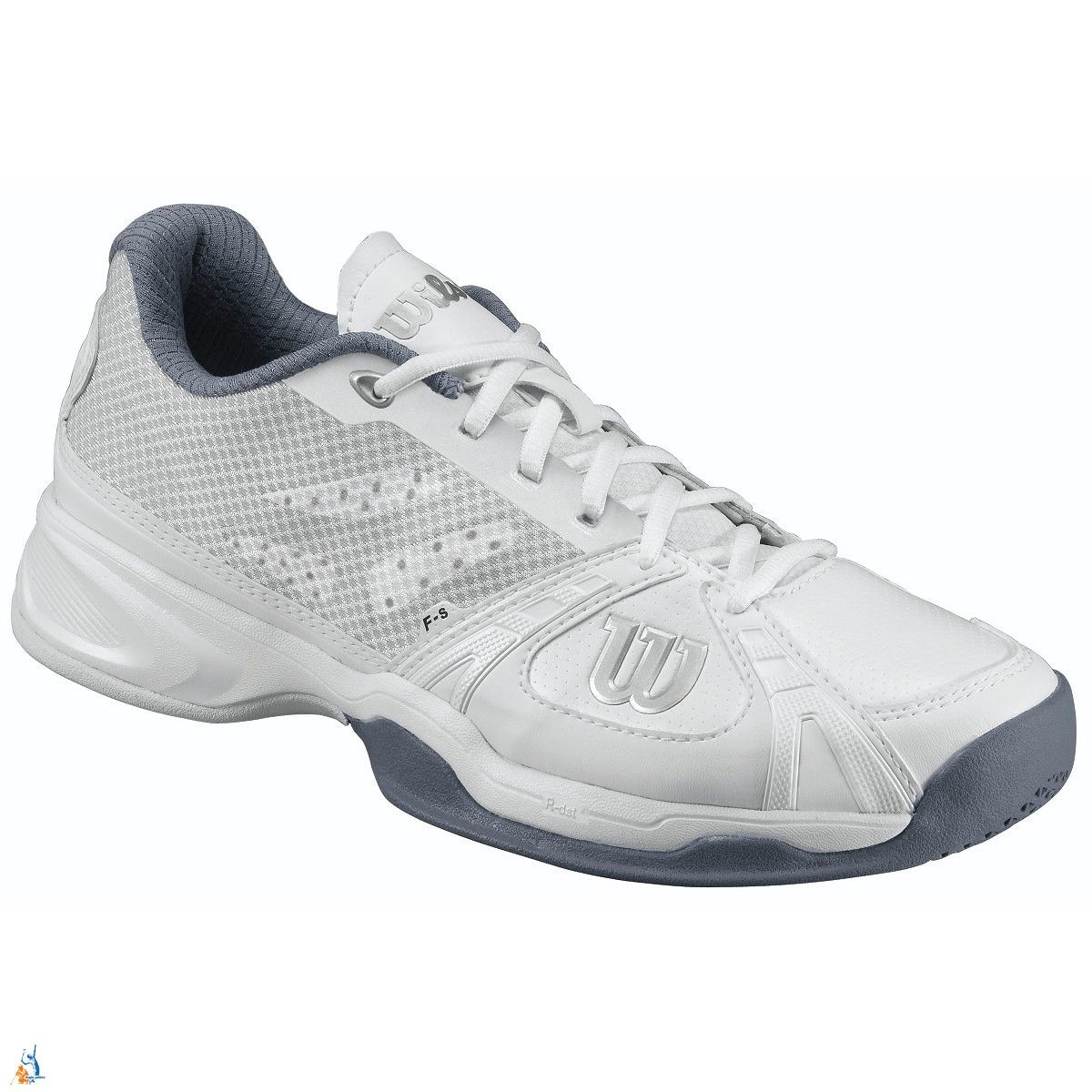 Wilson Rush Hard Court Mens Tennis Shoes - White/Grey