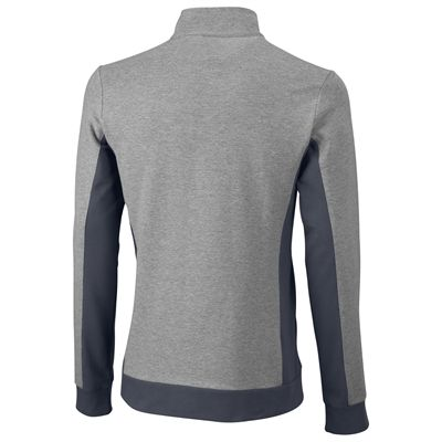 Wilson Rush Knit Mens Jacket-Grey-Black-Back