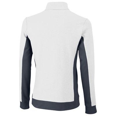 Wilson Rush Knit Mens Jacket-White-Black-Back