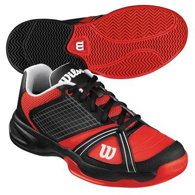 Wilson Rush NGX Junior Tennis Shoes