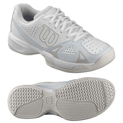 Wilson Rush Open 2.0 Ladies Tennis Shoes-White-Grey-Image