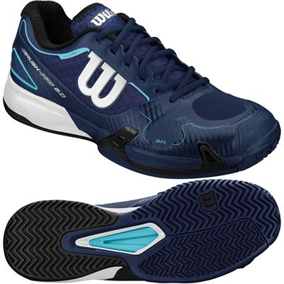 Wilson Mens Rush Pro 2.0 Tennis Shoe