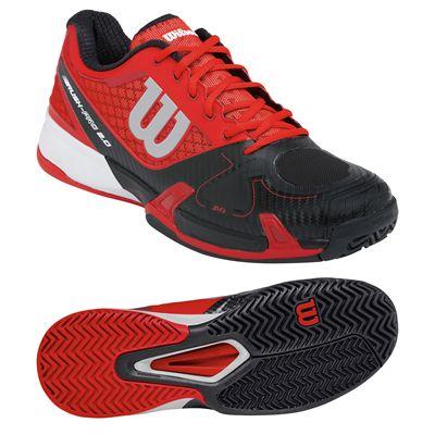 Wilson Rush Pro 2.0 Mens Tennis Shoes