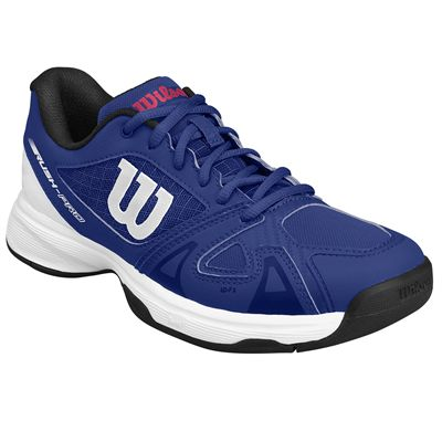 Wilson Rush Pro 2.5 Junior Tennis Shoes SS18 - Blue - Angled