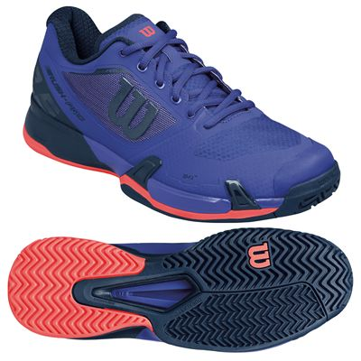 Wilson Rush Pro 2.5 Mens Tennis Shoes - Navy/Pink