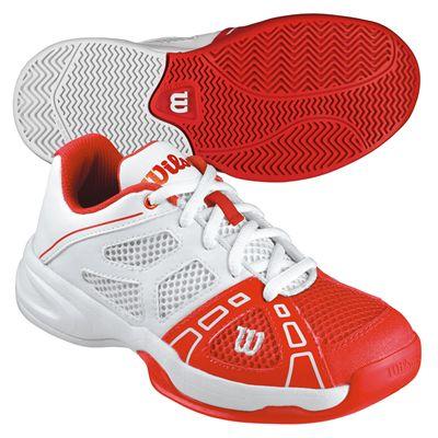 Wilson Rush Pro 2 Junior Tennis Shoes