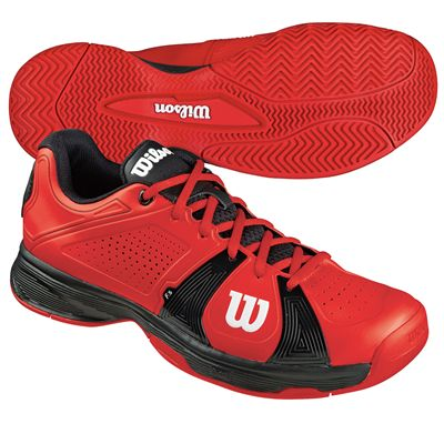 Wilson Rush Sport Mens Tennis Shoes
