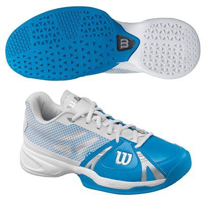 Wilson Rush Womens Tennis Shoes - Blue