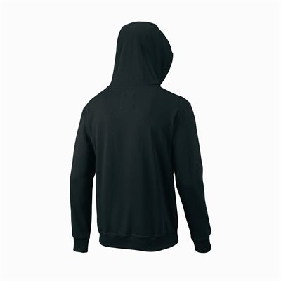 Wilson Script Cotton FZ Mens Hoody - Back
