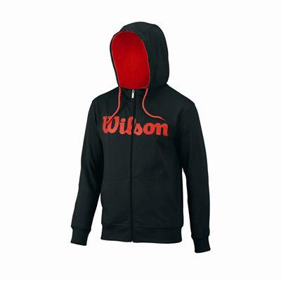 Wilson Script Cotton FZ Mens Hoody