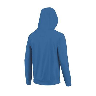 Wilson Script Cotton PO Mens Hoody - Blue/Back