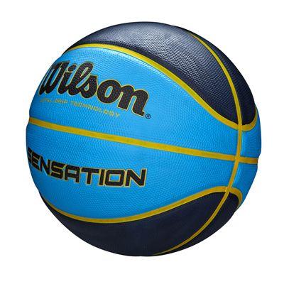 Wilson Sensation Basketball - Blue Angled