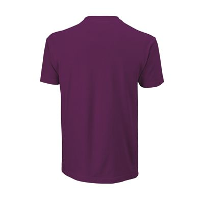 Wilson Shoulder W Cotton Mens T-Shirt - Back