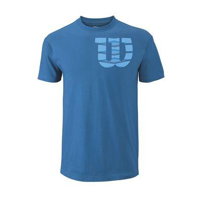 Wilson Shoulder W Cotton Mens T-ShirtWilson Shoulder W Cotton Mens T-Shirt - Black