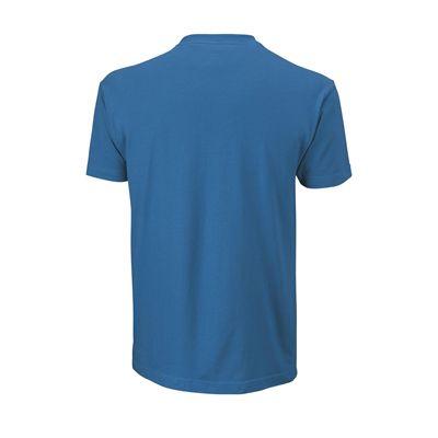 Wilson Shoulder W Cotton Mens T-ShirtWilson Shoulder W Cotton Mens T-Shirt - Blue/Black