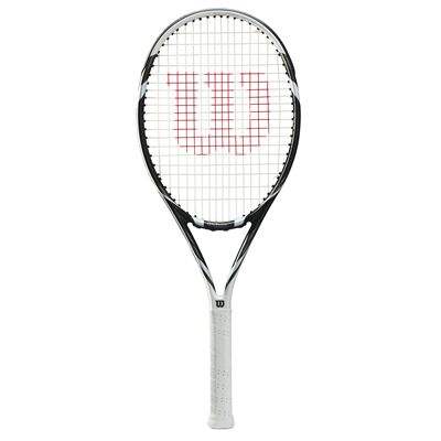 Wilson Six. Two Tennis Racket - Black/White