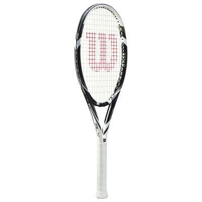 Wilson Six. Two Tennis Racket - Black/White - Side
