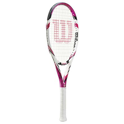 Wilson Six. Two Tennis Racket - Pink - Side
