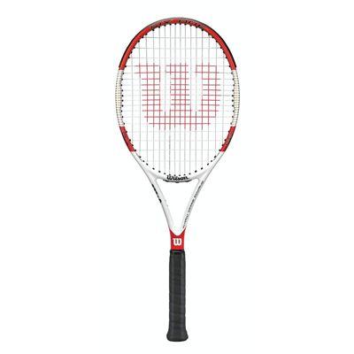 c5cd5d15d00bc Wilson Six.One 95 16 x 18 Tennis Racket - Sweatband.com