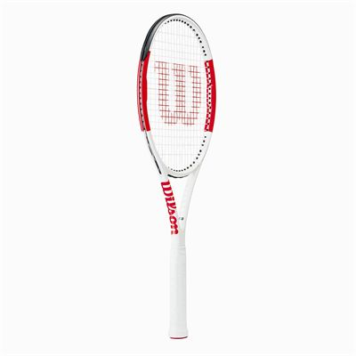 Wilson Six.One 95 Tennis Racket - Angled