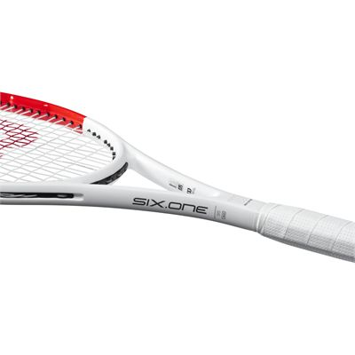 Wilson Six.One 95 Tennis Racket - Side