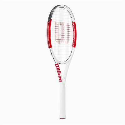 Wilson Six.One Lite 102 Tennis Racket - Angled