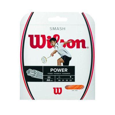 Wilson Smash Badminton String Set-Orange