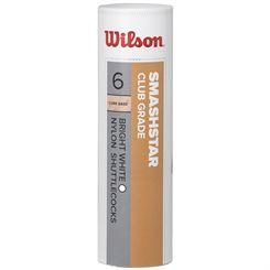 Wilson Smashstar Synthetic Shuttlecocks - Tube of 6