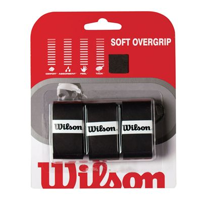 Wilson Soft Overgrip - Black