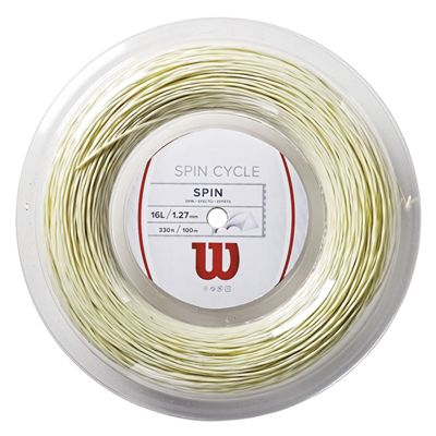 Wilson Spin Cycle 16L Tennis String 100 m Reel