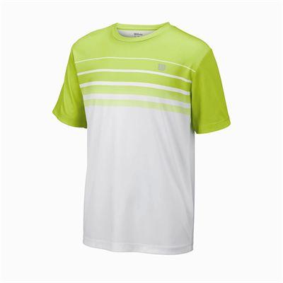 Wilson Spring Striped Crew Boys T-Shirt