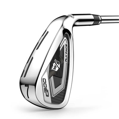 Wilson Staff C300 Steel 4-PW Golf Iron Set - Front