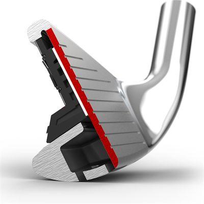 Wilson Staff D7 Graphite 5-PW, SW Golf Iron Set - Side