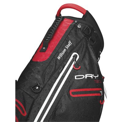 Wilson Staff Dry Tech Golf Carry Bag-BL-close