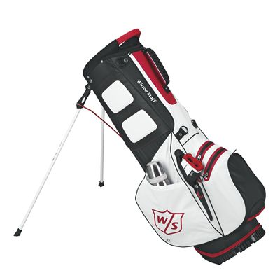 Wilson Staff Dry Tech Golf Carry Bag-WH-side