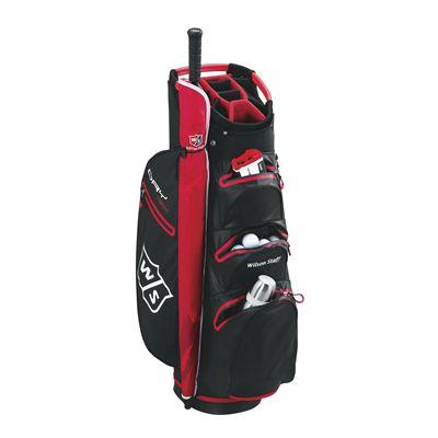 Wilson Staff Dry Tech Golf Cart Bag-bl-angle