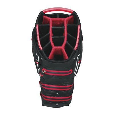 Wilson Staff Dry Tech Golf Cart Bag-bl-top