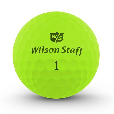 Wilson Staff DX2 Optix Golf Balls - 1 Dozen - Green