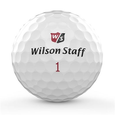 Wilson Staff DX2 Soft Golf Balls - 1 Dozen 2018 - Front