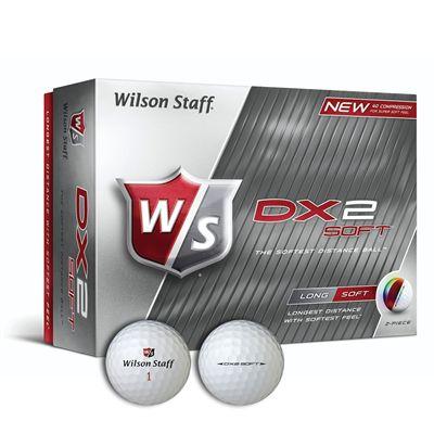 Wilson Staff DX2 Soft Golf Balls - 1 Dozen